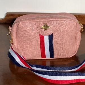 NWOT Pink Cross Body Bag